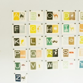 Alphabet printblog