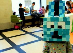 Minecraft- Blue Bunny