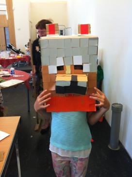 Minecraft - Wolf/ fox mask