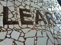 DREAM, PLAY & LEARN mosaic (detail)