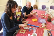 Crafty Break Sessions, these sessions like Time for you were arts and crafts sessions aimed at supporting parents with children under 5 years old.
