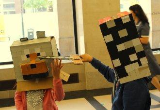 Minecraft - battle